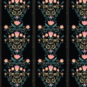 Maayo Folk Florals Sparkle