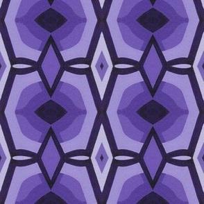 Purple Diamonds large scale