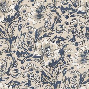 William Morris ~ Acanthus, Tulips, and Marigolds ~  Original