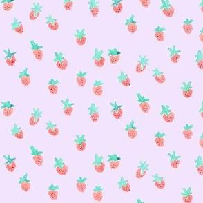 strawberry pale purple