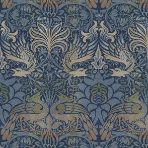 William Morris ~ Peacock and Dragon ~ Original
