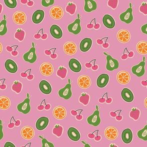 Mixed fruit Pink