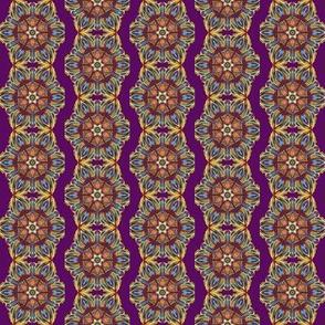Carpet flowers purple