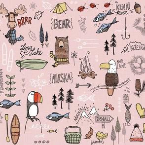 Alaskan Adventure - pink
