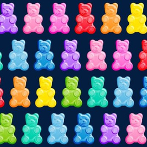 Gummy bears - candy - navy -  LAD19