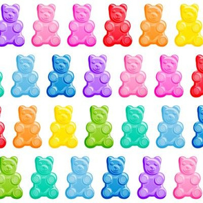 Gummy bears - candy -  LAD19