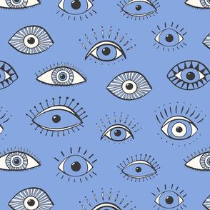 eyes - periwinkle (large scale)