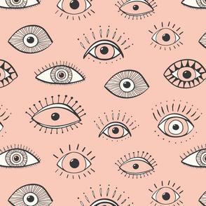 Eyes - blush (large scale)