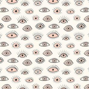 eyes - blush on cream (medium scale)