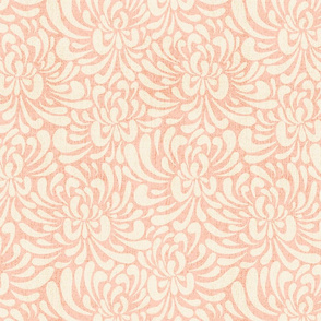 Abstract chrysanthemum - blush