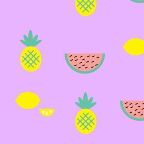Watermelon and pinapple shake