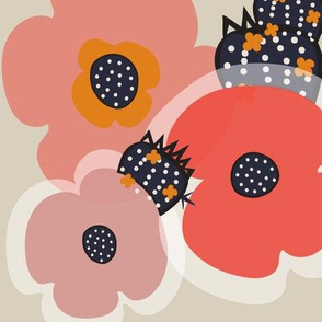 Minimal Floral 9 Desert Blush
