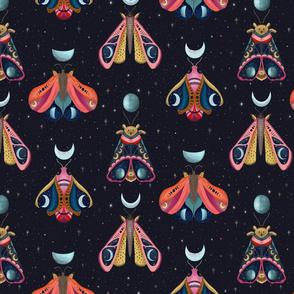 Lunar Moths