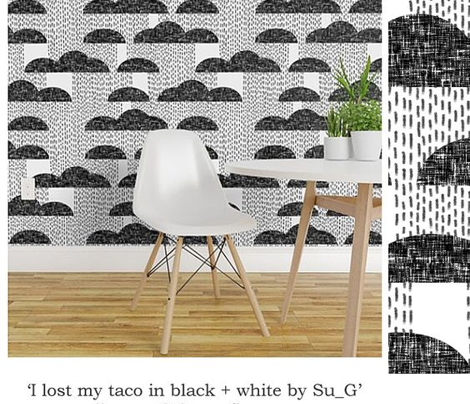 I lost my taco in black + white by Su_G_©SuSchaefer