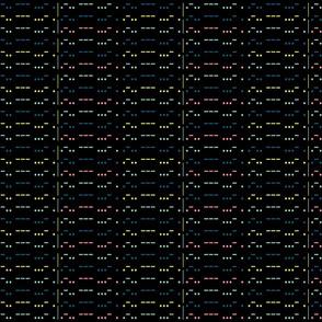 LOVE in morse code - blabk bkg