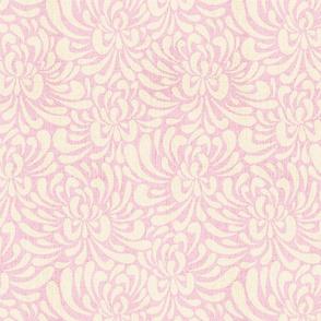 abstract chrysanthemum  -  light pink