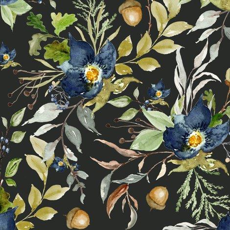 Rindigo-autumn-woods-florals-charcoal-metal_shop_preview