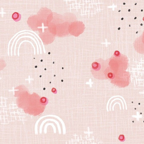 Abstract sweetness, pink