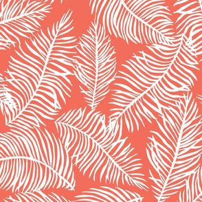 Foliage Coral White