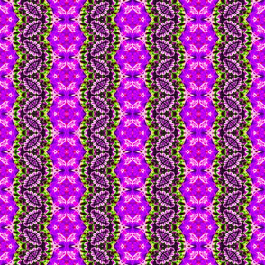 Purple Concho Zigzag