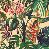 Tropical Flora (vintage)
