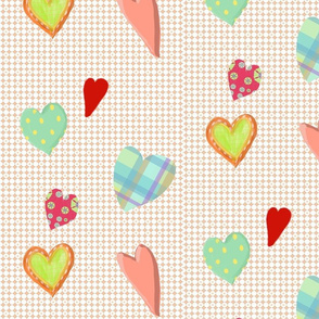 Bella and Bingo hearts