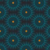 ★ DARK SUNSHINE ★ Gray, Ochre, Black - Small Scale / Collection : Abstract Geometric Prints