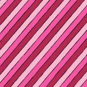 mod stripey pinky