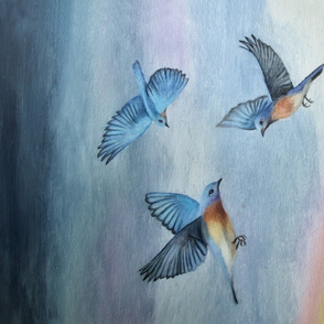 Over The Rainbow painting