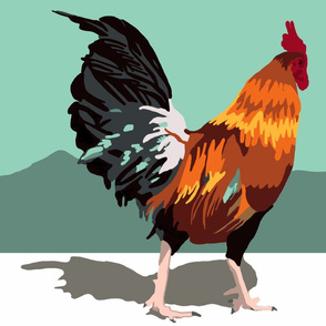 Paint-by-Numbers-Rooster