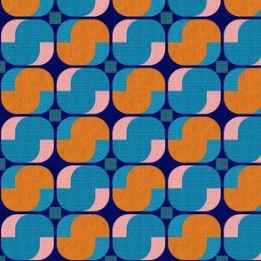 Bold minimalist seventies