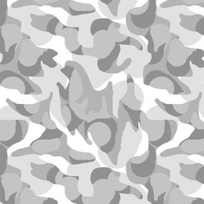 Arctic Camouflage Camo in Grays