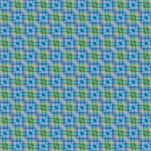 Mini Prints: Cool Plaid Squares