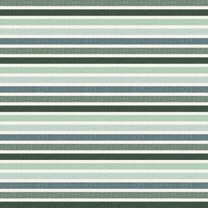 1/2 inch horizontal stripes green retro striped fabric