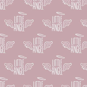 Little Angel - mauve - LAD19