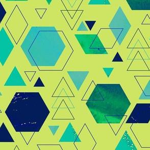 Wild Hexagons
