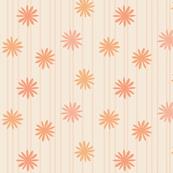 mod-flower-melon-coral orange