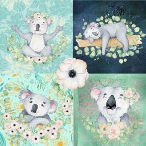 Cuteness Koala Patchwork