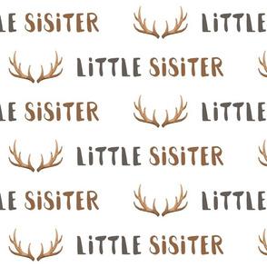 little sister antlers