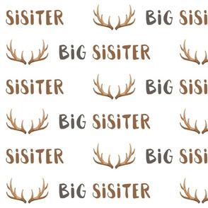 big sister antlers