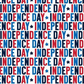 independence day uppercase on white || independence day USA american fourth of july 4th