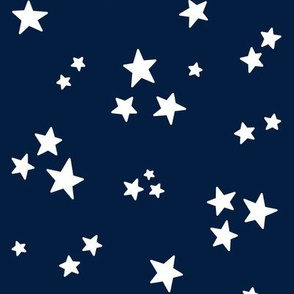 stars med white on navy blue || independence day USA american fourth of july 4th