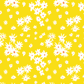 Ditzy Yellow Daisies