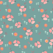 Folk bugs and flowers 3.8