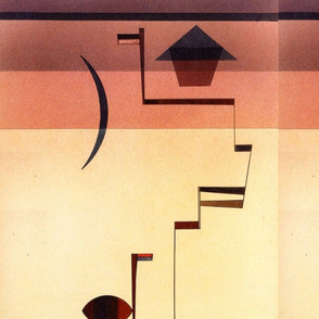 Angular by Wassily Kandinsky