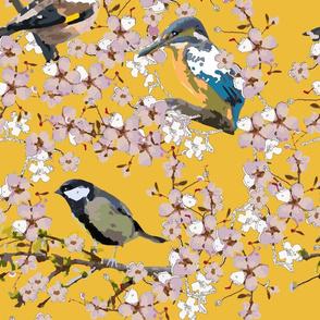 Paint by bird