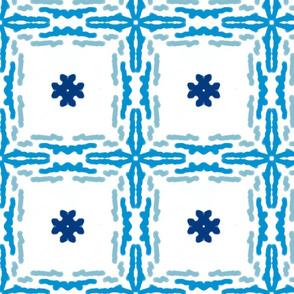blue blue blue squares