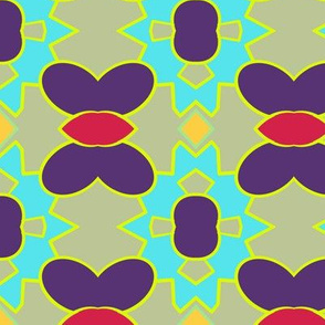 Abstract wow pattern