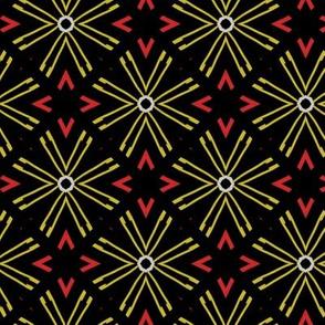 Yellow star flakes