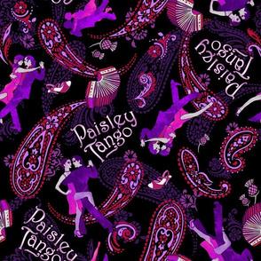 Paisley Tango Medium hot 30cm